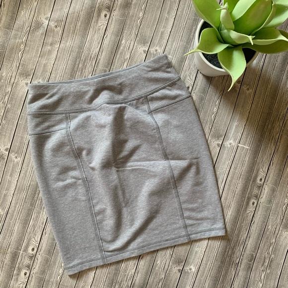 Athleta Dresses & Skirts - Athleta gray mini skirt